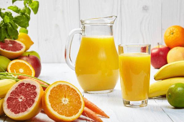 开鲜榨果汁店流程