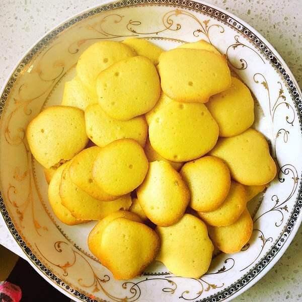 营养丰富的蛋黄饼干