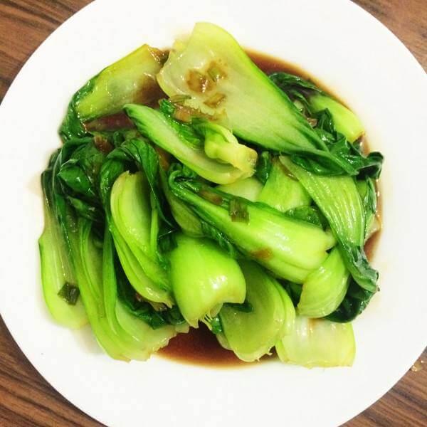 色味俱佳的清炒油菜