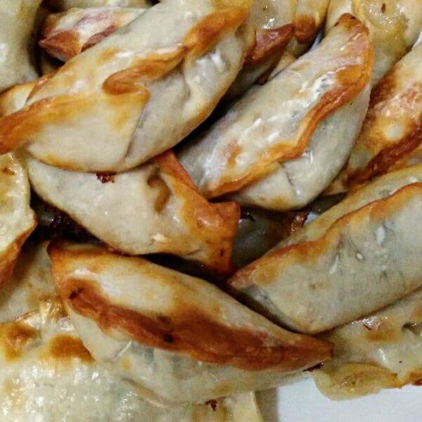一绝的油煎饺子