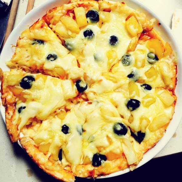自制水果披萨