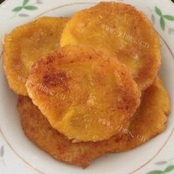 香煎南瓜饼