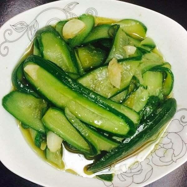 家常菜清炒黄瓜
