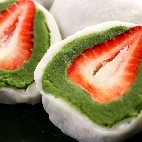 手造草莓大福