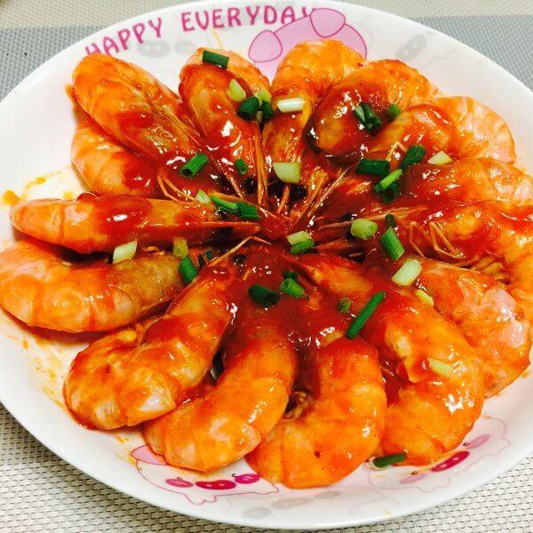 美味番茄大虾