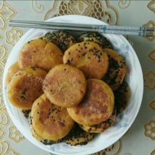 香脆的南瓜糯米饼