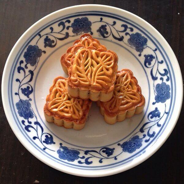 广式简单红豆沙月饼