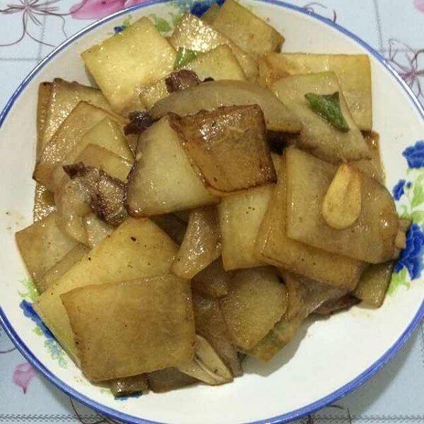 鲜香的冬瓜炒肉