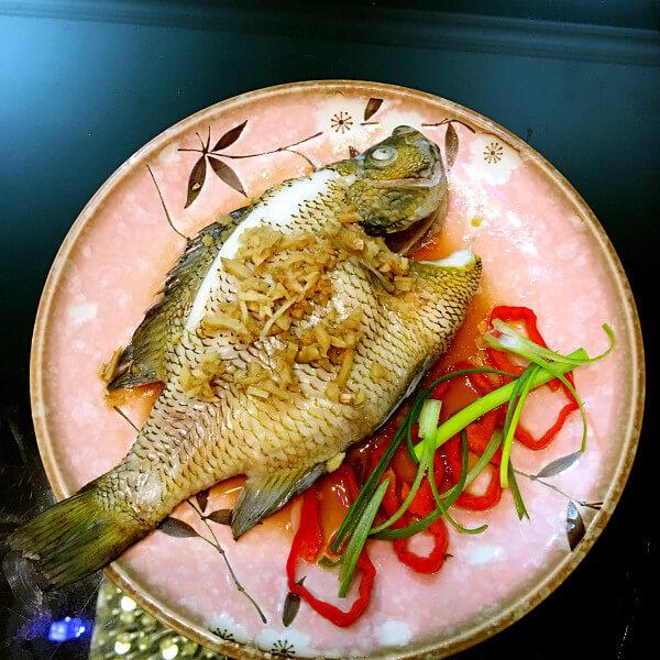 鲜香的清蒸太阳鱼