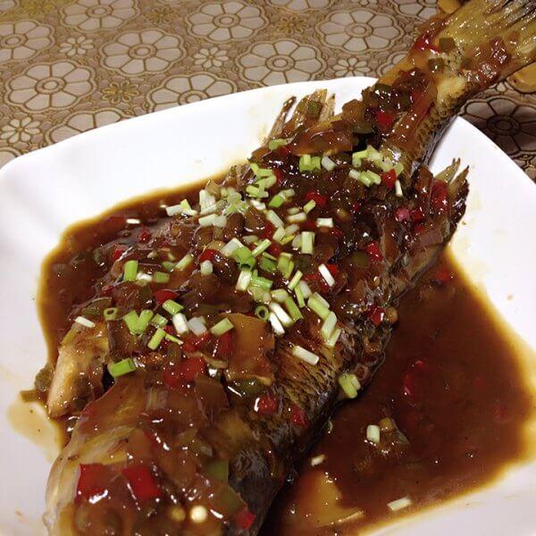 美味糖醋鲈鱼