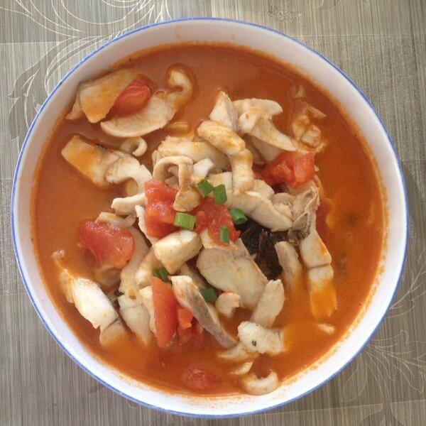 自制番茄鱼片