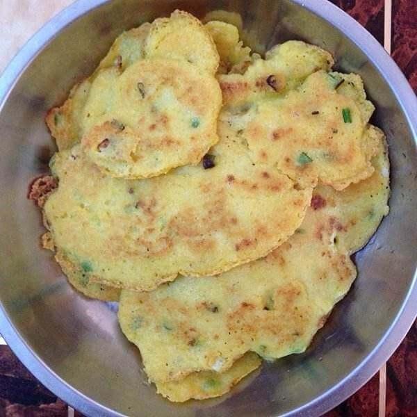 杂粮豆渣煎饼
