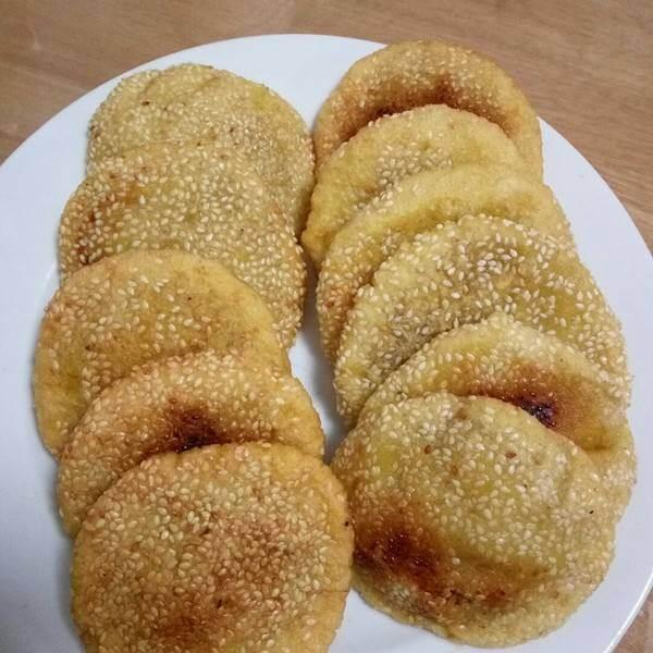 春节美食—烫面炸糕