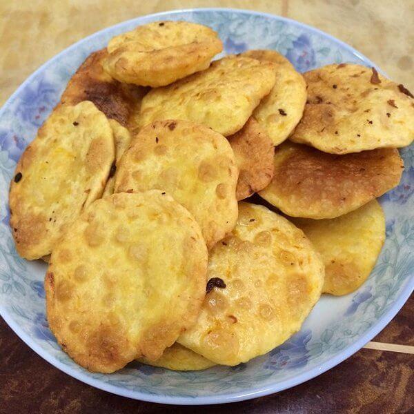 自制南瓜饼