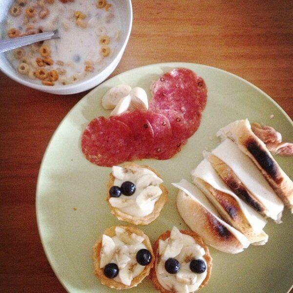 DIY水果面包