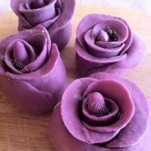 紫薯玫瑰花