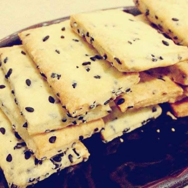 黑芝麻饼干