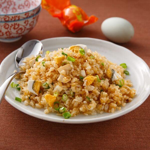 杂蔬蛋炒饭