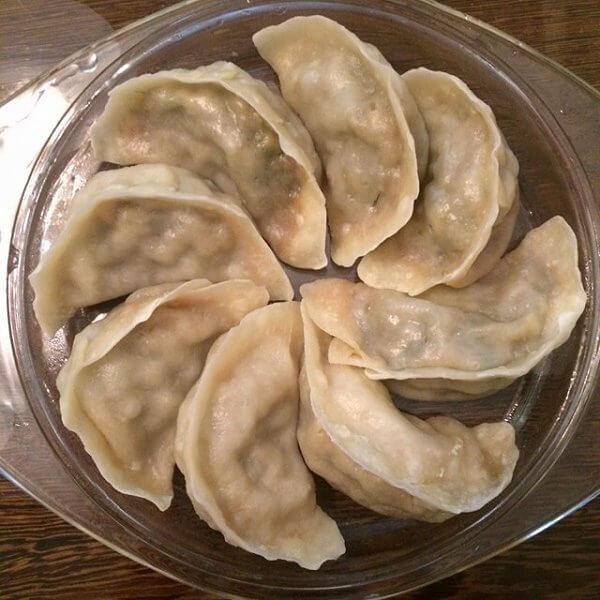 茴香猪肉水饺