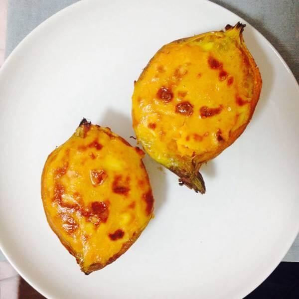 极致的芝士焗红薯
