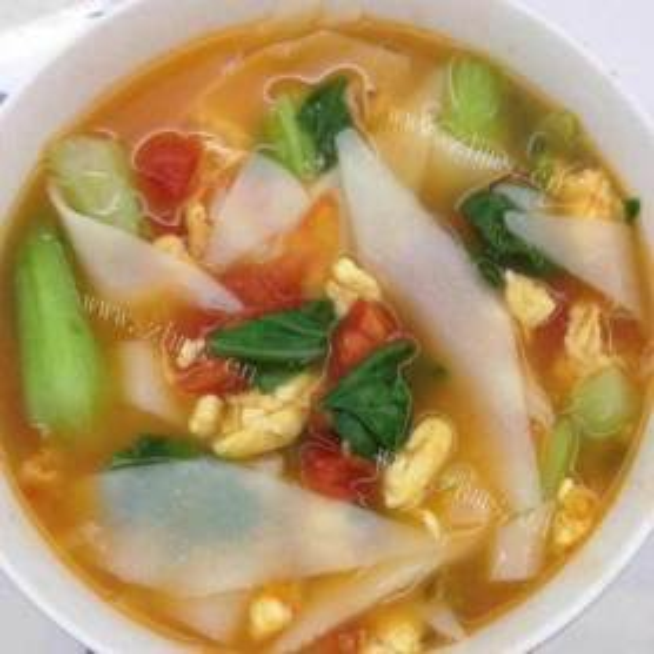 营养面汤-西红柿面片汤