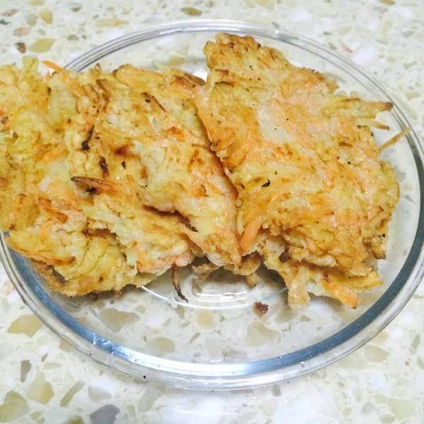 萝卜丝煎饼