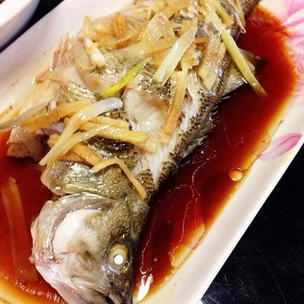自制茄汁鲈鱼