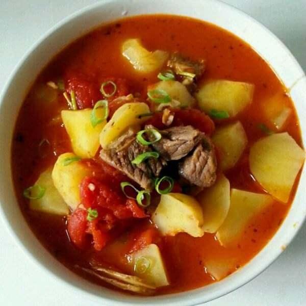 番茄土豆炖牛腩