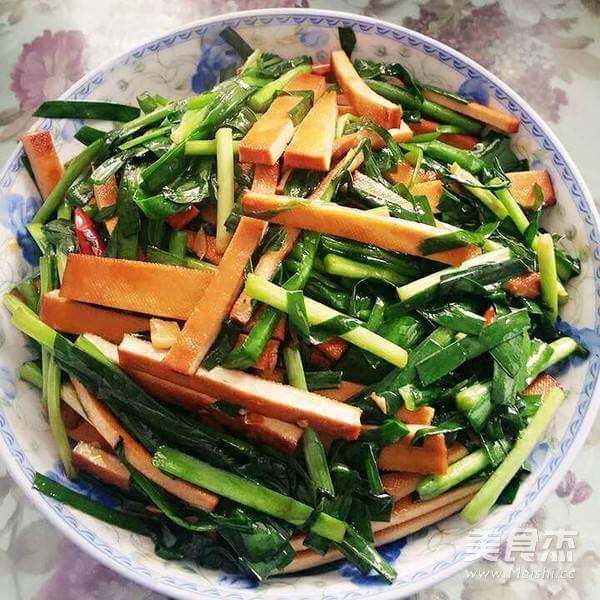 家常韭菜炒香干