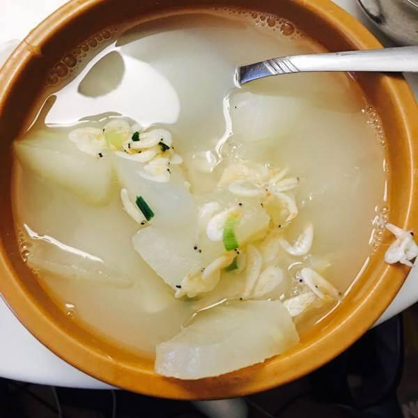 虾皮冬瓜汤