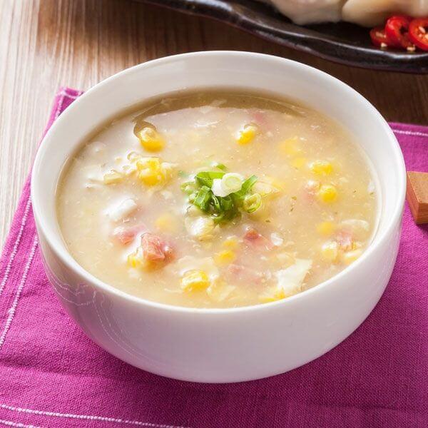 营养的玉米蛋花汤