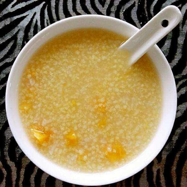 小米地瓜粥