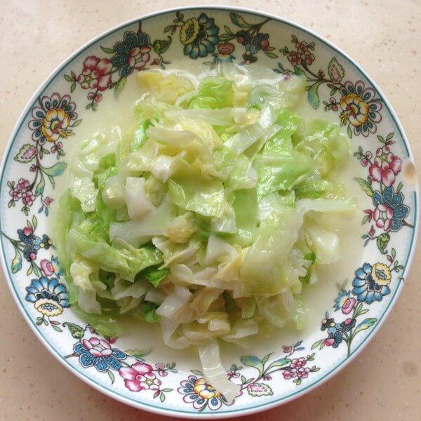 清炒圆白菜