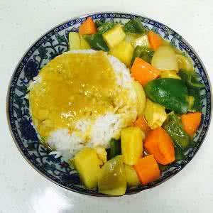 土豆咖喱饭