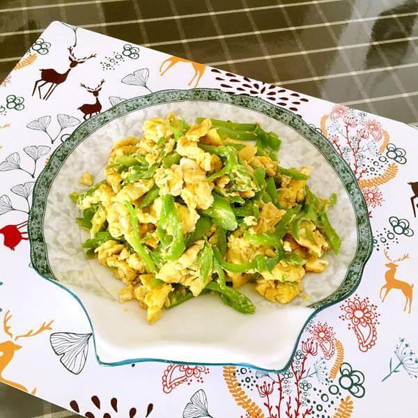 青椒煎鸡蛋
