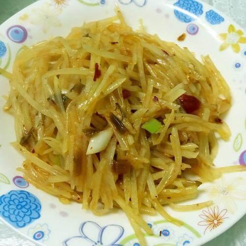 花样土豆——香辣炒脆土豆丝