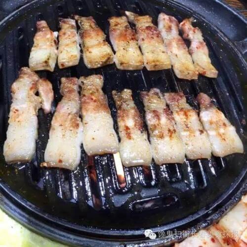 家常菜香烤五花肉