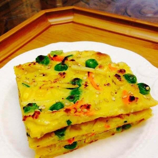自制香煎土豆丝饼