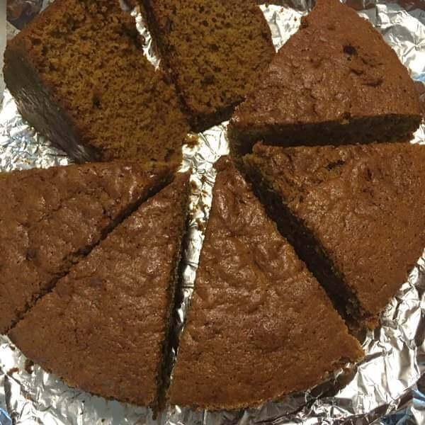 自己做的红枣蛋糕