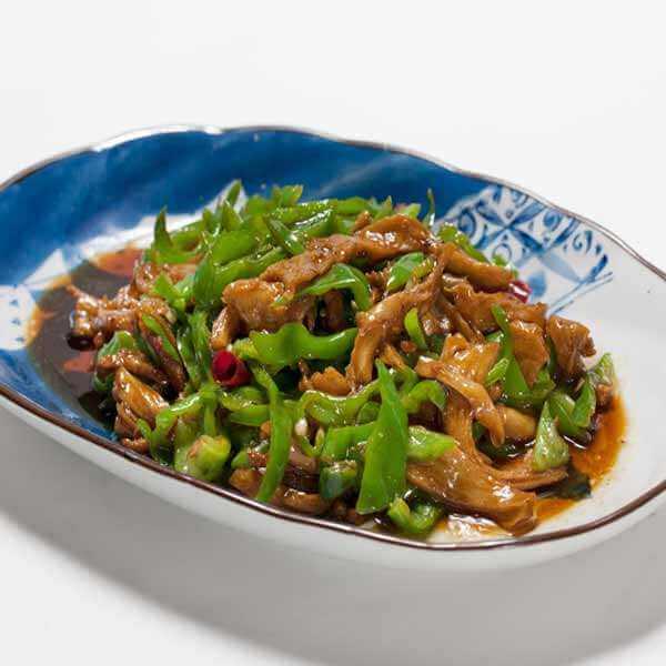 青椒炒面筋
