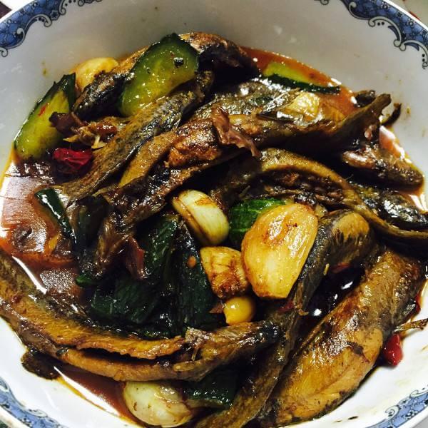 红烧泥鳅——豆果美食