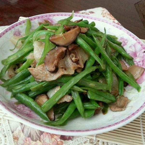 肉丝炒豆角