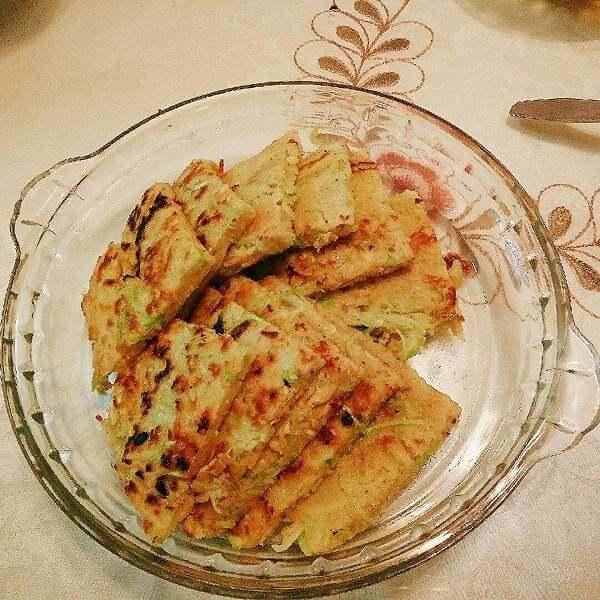 简单版西葫芦煎饼