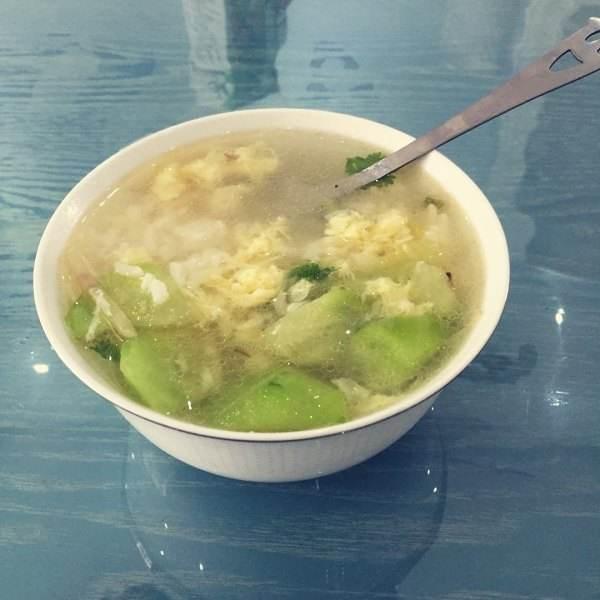 黄瓜蛋花汤
