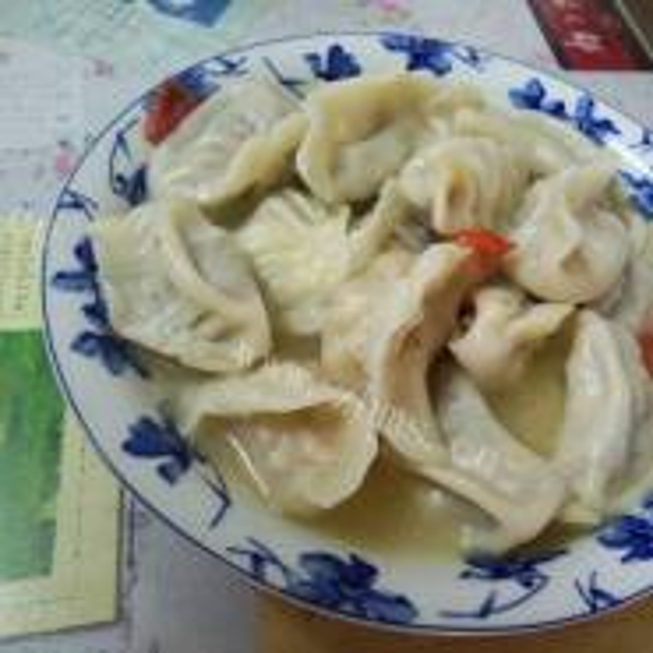木耳猪肉饺子