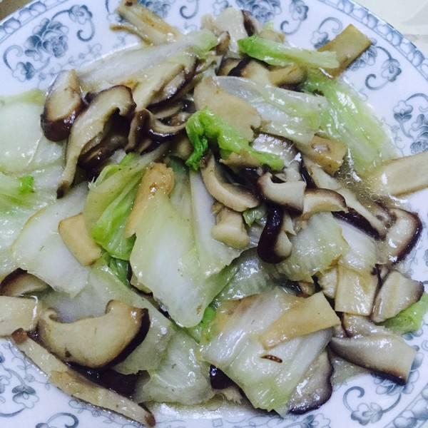 清炒黄心菜