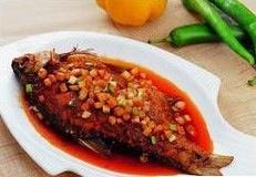 美味干烧鱼