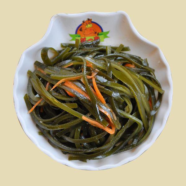 蒜香海带丝