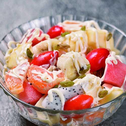 #健康食谱#水果沙拉