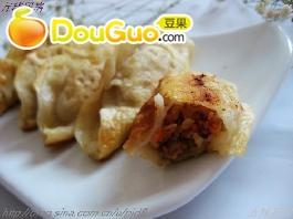 美味虾肉锅贴